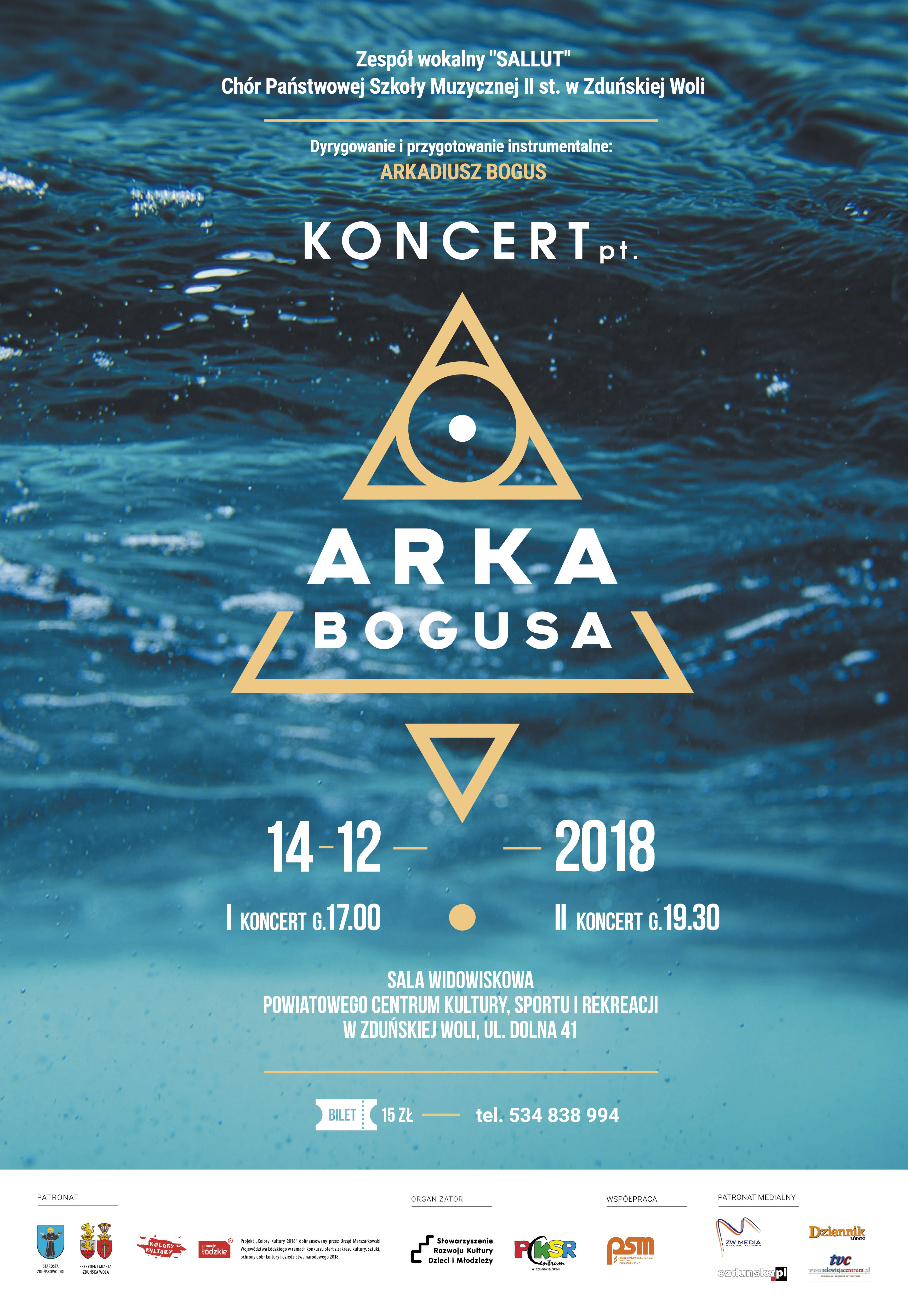 """Koncert """"Arka Bogusa"""""""
